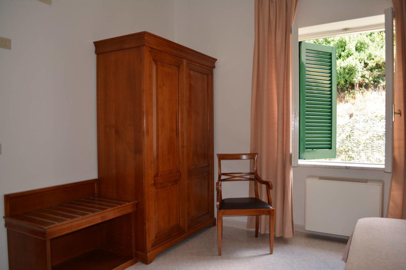 Camera standard tripla e quadrupla con balcone