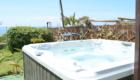 Vasca con idromassaggio dell'hotel Maronti