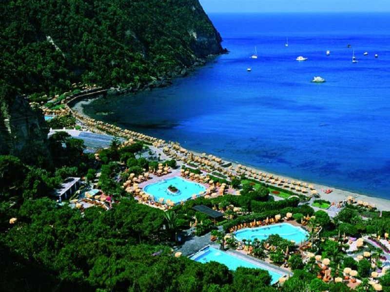 Hotel maronti ad ischia 3 stelle mezza pensione vicino spiaggia e mare - Giardini di poseidon ischia ...