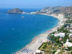 La spiaggia Maronti