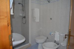 bagno della camera singola economy