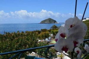 Panorama dall'hotel Maronti